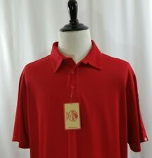 Red Kap Shirt size 3XL Men's Red Polo Knit Flex Performance Series Rugby