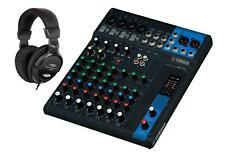 Yamaha mg 10 mesa de mezclas mezclador analógico 10-canal consola XLR salida set auriculares