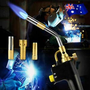 TS8000 Bernzomatic Style Blow Torch Kit Brazing Soldering Mapp Gas Map