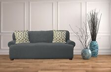 Dublin Popcorn Slipcover Soft Stretch Textured Furniture Cover Chair Sofa/Couch