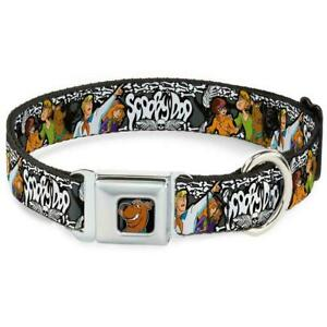 Dog Collar Seat Belt Licensed Scooby Doo WSD014