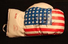 BRIAN VILORIA OLYMPIAN & FLY WT CHAMP AUTOGRAPHED SIGNED USA FLAG BOXING GLOVE