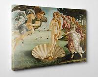 Sandro Botticelli La Nascita di Venere Stampa su Tela Vernice Pennellate Poster