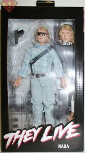 "JOHN NADA Rowdy Roddy Piper They Live (1988 Movie) 8"" Clothed Figure Neca 2020"