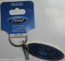 Ford keychain holder badge clip key ring latch tag Chain tag powerstoke F150 new