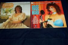 ROSE MARIE LP  X 2 JOB LOT COLLECTION  VG/CONDITION