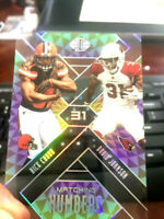"""NICK CHUBB 2018 ILLUSIONS MATCHING NUMBERS 31 PARALLEL """"SEE THROUGH"""" ROOKIE RARE"""
