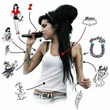 Amy Winehouse Premium Temporary Tattoos (A5 pack) Hens Night Tattoos Fun