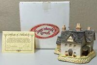 David Winter Cottages - Benbow's Farmhouse Herefordshire 1987 - ORIGINAL BOX COA
