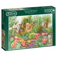 Jumbo Falcon De Luxe The Flower Show Desert Plants Jigsaw Puzzle 1000 Pieces