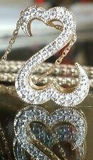 $1100 Zales Jane Seymour 14k yellow gold open heart diamond pendant.