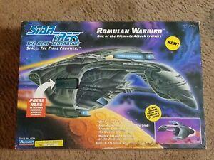 Playmates Star Trek The Next Generation Romulan Warbird tested