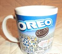 Oreo Coffee Mug Cup Nabisco Milk