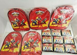 Disney POWER RANGERS SCHOOL BAGS & WALLETS Job Lot Wholesale Clearance Resale
