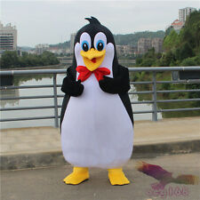Parade Penguin Mascot Costume Suit Animal Halloween Adults Cosplay