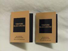 Tom Ford 'Black Orchid' EDP Perfume Set of 2 Sample Spray Vials Beautiful!