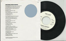 GEORGE HARRISON white label 45 DARK HORSE I Don't Care Anymore USA
