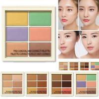 Long-lasting Conceler Palette Color Correcting Contour Cream Palette Makeup Set