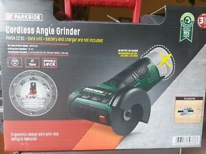 Parkside Cordless Angle Grinder (PWSA 12B1) with Battery and Charger. Brand new!