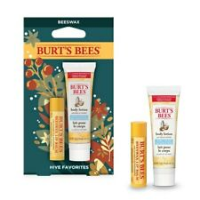 Burt's Bees Hive Favorites Gift Set of lip balm & body lotion - Beeswax