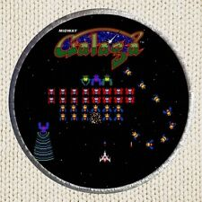 Galaga Patch Picture Embroidered Border Arcade Videogame Aliens Galaxian Legions