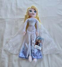Disney Frozen 2 Princess Elsa Snow Queen Plush Doll Toy 45cmh - Authentic