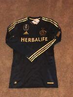 NWT Adidas Los Angeles LA Galaxy 11/12 Third LS Player Issued Jersey Rare Medium