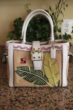 COACH 4439 Limited Ed. Lady Bug Hampton Tote Handbag (PU120