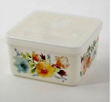 The Pioneer Woman WILLOW 43-Oz Square Food Storage Container Steam Release, New