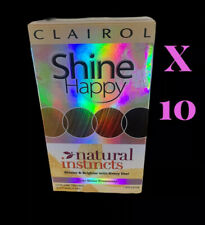 10 X CLAIROL SHINE HAPPY NATURAL INSTINCTS CLEAR SHINE TREATMENT 00