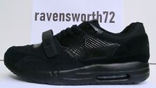 Nike Air Maxim 1 + Trainer ND 10 11 RARE 2010 TRIPLE BLACK 375295 002 Max LE DS