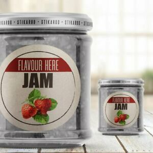 35 Bowness JAM POT JAR LID LABELS HOMEMADE PRESERVES HOME MADE STICKERS