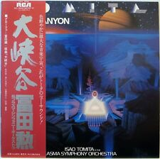 ISAO TOMITA / GRAND CANYON SUITE / SYNTHESIZER / RVC JAPAN OBI RCL-8306