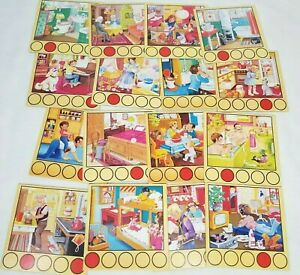 Race To The Roof Replacement Room Cards Set Of 16 Game Pieces Parts Ravensburger
