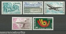 FRANCE - 1973 YT 1749 à 1753 - TIMBRES NEUFS** LUXE