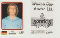 Panini - WM 1974 - Uli HOENESS - original sehr rar