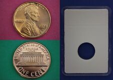 1975 S Proof Lincoln Memorial Cent Penny With DIY Slab Flat Rate Shipping