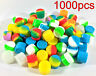 1000pcs 2ml Silicone Container Jar Non-Stick Mixed colors Round Wholesale lot