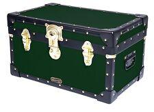 "GREEN Traditional Mossman Boarding School Tuck Box Storage Trunk 20""x13""x11"""