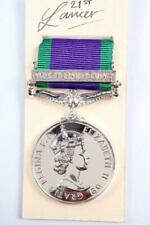 ERII CSM CAMPAIGN SERVICE MEDAL NORTHERN IRELAND BAR CLASP GSM FULL SIZE