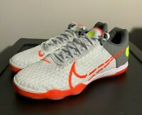 Nike React Gato Indoor Soccer Shoes White Crimson Red CT0550 160 Men's Size 7
