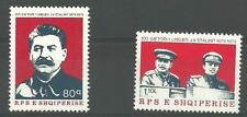 Albania Albanien 1979 Communism MiNr 2033 - 2034 MNH** Enver Hoxha Stalin
