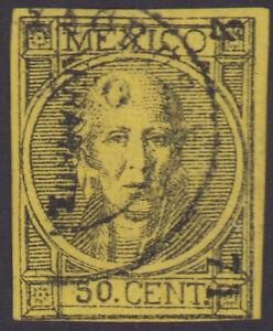 da34 Mexico #62 50ctv Veracruz 2-71 R4 Sz 1757A F est