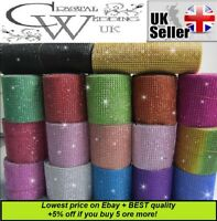1M Crystal Diamante Sparkly¨*:·. Rhinestone effect cake Ribbon Trim  SEE VIDEO!