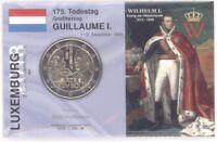 2 Euro Coincard / Infokarte Luxemburg 2018 Guillaume I