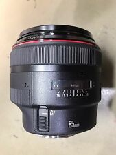 Damaged Good For Parts Or Repair - Canon EF 85mm f/1.2 II L USM Lens - Faulty