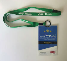 Counting Crows Jeep Red Rocks 10-12-2013 Backstage Pass! copper mountain Lanyard
