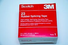 "2"" SCOTCH 3M '23' RUBBER SPLICING TAPE * HIGH-VOLTAGE__SELF-FUSING__INSULATING"
