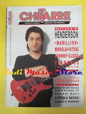 rivista CHITARRE 50/1990 Scott Henderson Miroslav Vitous Steve Rothery No cd
