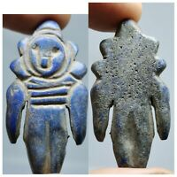 2000 years old very Ancient unique Lapis lazuli stone doll   .127
